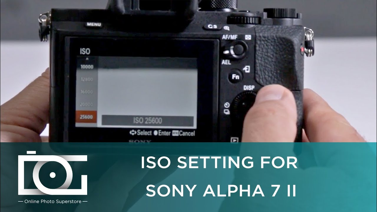 sony a7 ii tutorial what is the highest iso setting for. Black Bedroom Furniture Sets. Home Design Ideas