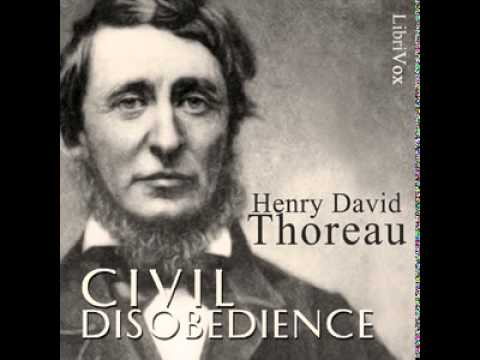 "thesis of civil disobedience by thoreau In his essay "" civil disobedience"" (1849 originally titled "" resistance to civil government""), thoreau expounded his anarchistic views of government."