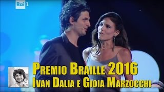inizio del Premio Braille 2016 - Ivan con Gioia Marzocchi, divertentissimo! | Ivan Dalia Official