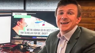 American Hero James O'Keefe EXPOSES Media Hoax From Behind Glass