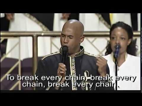 """Break Every Chain"" Anthony Brown & Young Adult Choir"