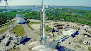 SPACEX SUCCESSFUL LAUNCH FIRST REUSABLE ROCKET TO THE ISS