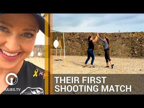 Women Shoot First Handgun Practical Shooting Competition   Love at First Shot & JulieG.TV