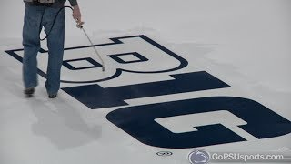 Pegula Ice Arena - Rink Painting