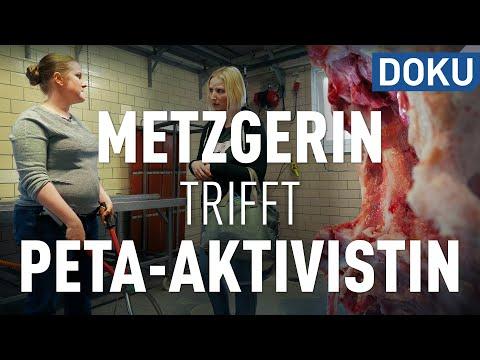 Download Youtube: Puls 180: Metzgerin trifft PETA-Aktivistin und Tierschützerin