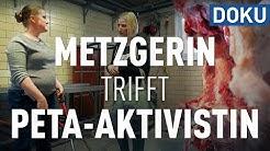 Puls 180: Metzgerin trifft PETA-Aktivistin und Tierschützerin