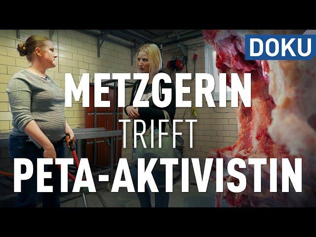 Metzgerin trifft PETA-Aktivistin und Tierschützerin | Puls 180 | doku