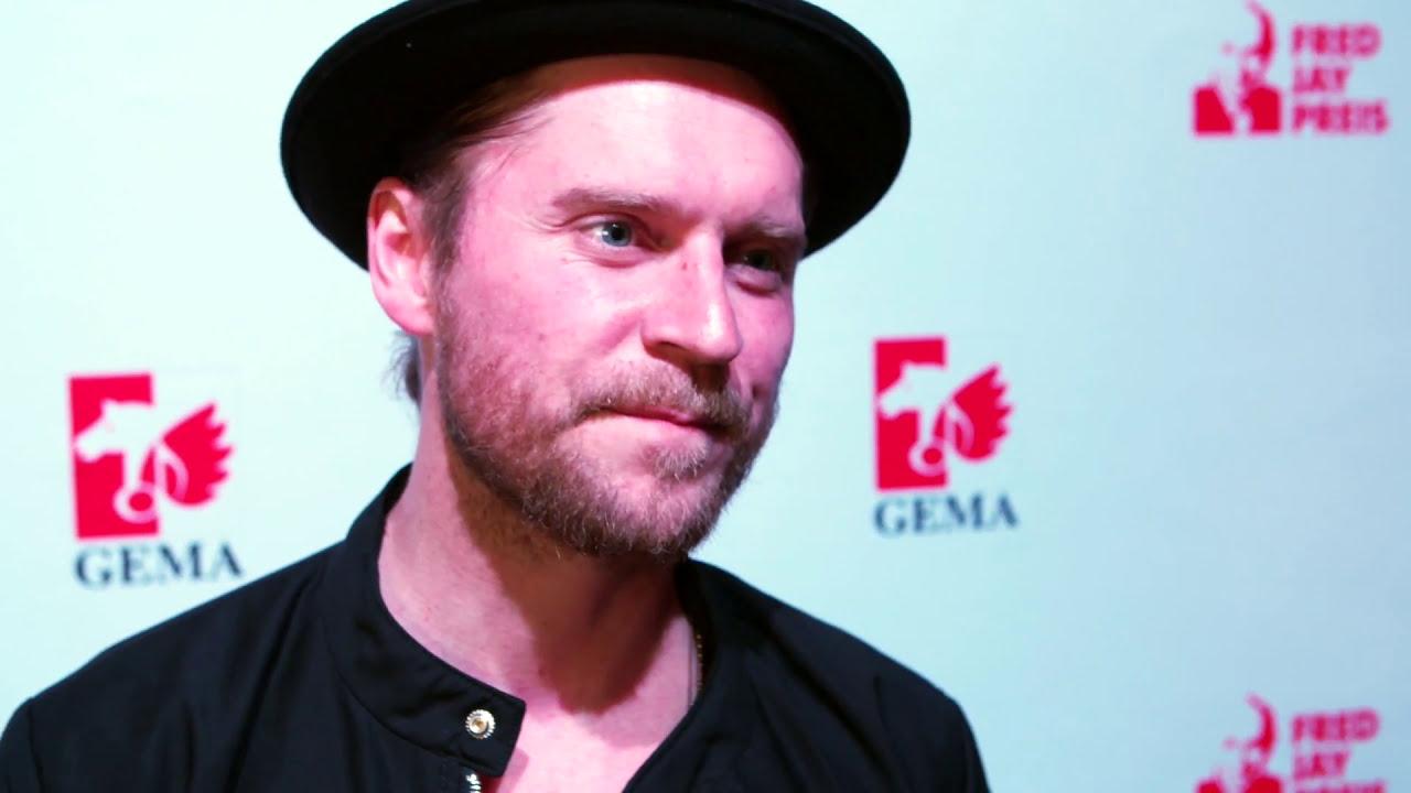 Verleihung Fred Jay Preis 2017 An Johannes Oerding GEMA