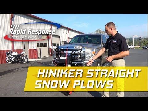Hiniker Straight Plow | 911RR