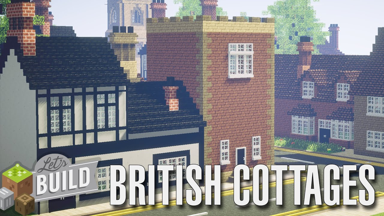 minecraft british cottages build - Cottages To Build