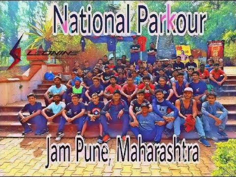 National Parkour Jam Pune 2017..  By Uzair khan ( Team Leonine / Delhi Parkour )