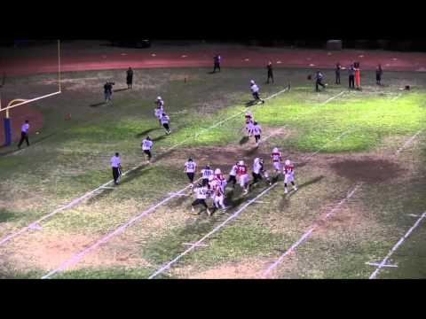 ScoringLive: Nanakuli vs. Kalani - Brandon Roberts, 5 yard pass from Noah Brum