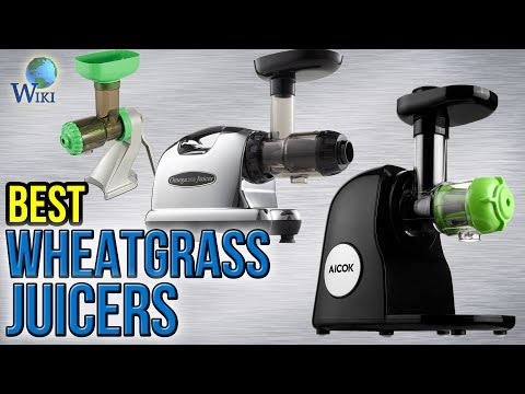 8 Best Wheatgrass Juicers 2017