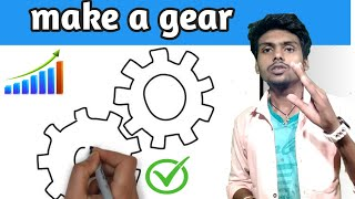 Make a Gear drawing easily