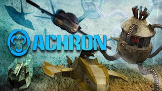 Achron Gameplay - *Burp* We`re going back in time Mooorty *Burp*