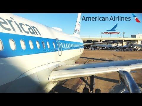 TRIP REPORT: American Airlines | Airbus A319 (Piedmont Heritage) | Dallas/Ft. Worth - Guadalajara