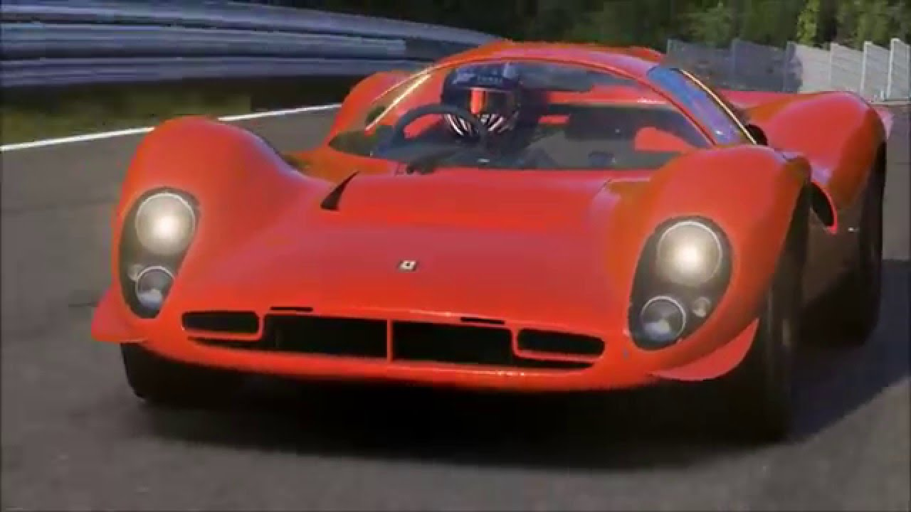 1967 ferrari 330 p4 nurburgring 07:52.3 forza 6 - youtube