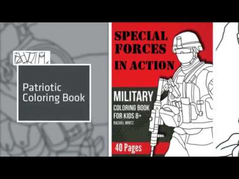 Special Forces - Military Coloring Book Preview - YouTube