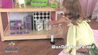 Domek Dla Lalek So Chic Wonder Toy Kidkraft Dollhouse