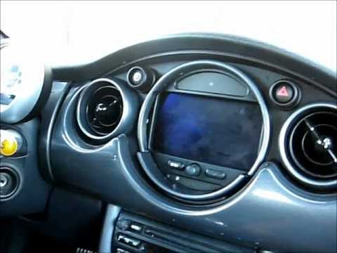 How To Remove Navigation Screen Monitor From Mini Cooper 2005 For Repair You