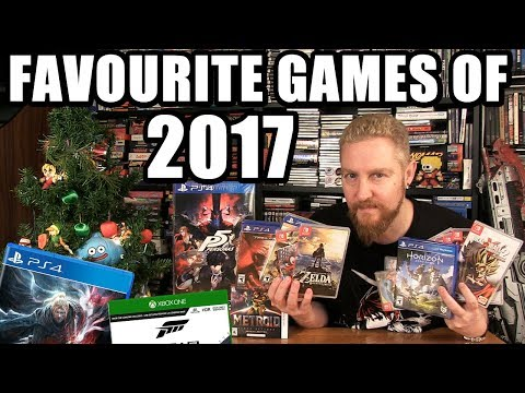 MY FAVOURITE GAMES OF 2017 - Happy Console Gamer