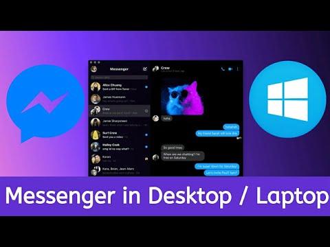 How To Install Facebook Messenger In Desktop / Laptop PC