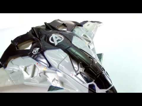 Avengers : Age of Ultron Cycle Blast Quinjet - YouTube  Avengers : Age ...