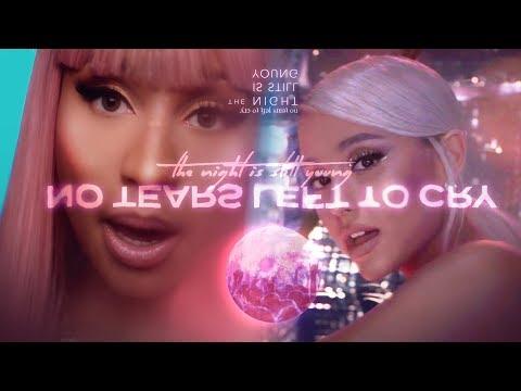 Ariana Grande & Nicki Minaj - No Tears Left In The Night (Mashup) | MV + Lyrics Video