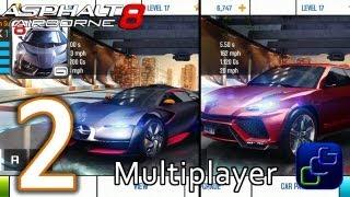 Asphalt 8: Airborne Walkthrough - Multiplayer Part 2 - Lamborghini Urus and Citroen Survolt