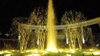 Лезгинка. Музыкальный фонтан в Кисловодске
