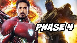Avengers Phase 4 Eternals and Infinity War Scene Easter Egg Breakdown