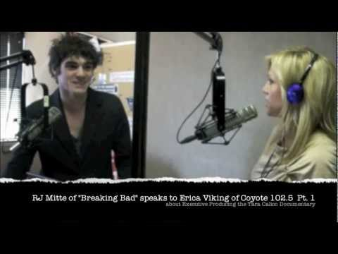 RJ Mitte Radio Interview Speaks about Executive Producing the Tara Calico Documentary Pt 1