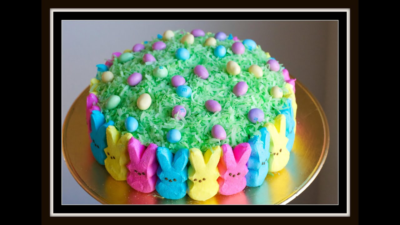 Easter Cake Ideas With Peeps