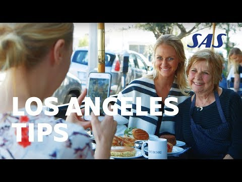 Los Angeles Tips: Lovisa de Geer is showing the best restaurants in Los Angeles | SAS
