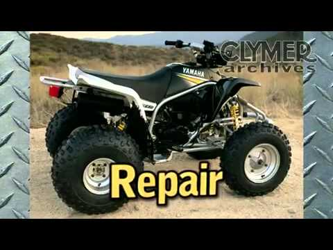clymer manuals yamaha blaster manual yfs200 manual yfs 200 atv four rh youtube com yamaha blaster workshop manual yamaha blaster 200 service manual pdf