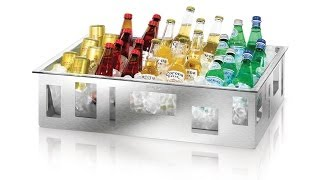 Rosseto Coolers: Beverage Display & Buffet Ice Tubs