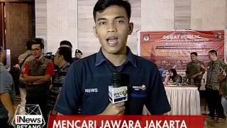Live Report : Wahyu Seto Aji, Mencari Jawara Jakarta - INews Petang 13/01