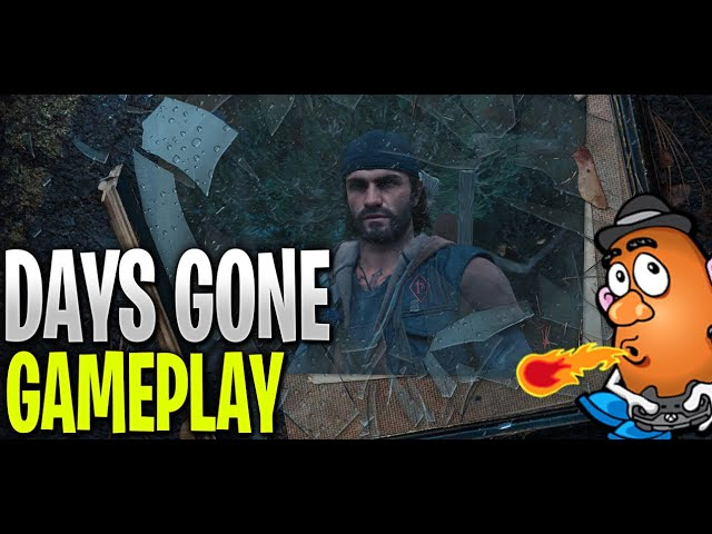 Oh Crap! Run!   Days Gone   PS4 PRO Gameplay