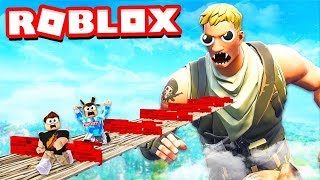 LET'S GET OUT OF FORTNITE WORLD IN ROBLOXIN!! -Roblox/W COFI