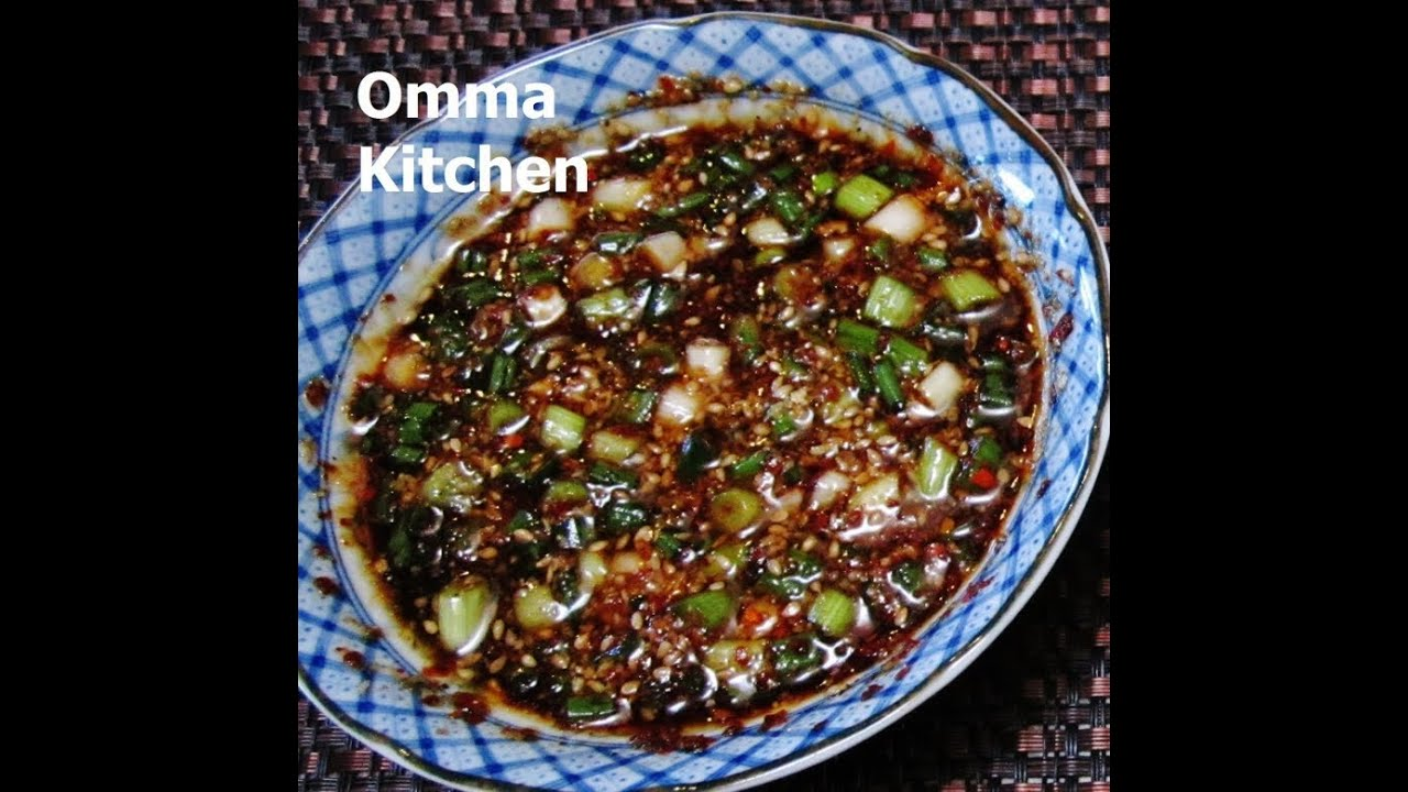 Korean dipping sauce for tofu meat vegetables and salad youtube forumfinder Image collections