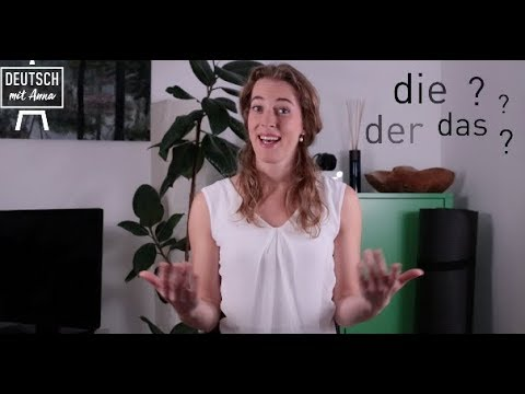 DER? DIE? DAS? part 2 | tips how to identify the female article in German #grammar