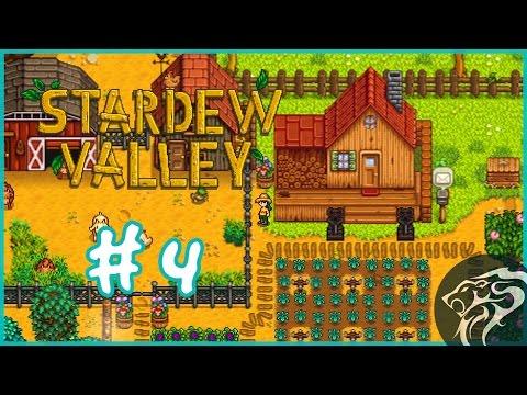 Stardew Valley - Wood to fix the bridge - Part 4 - [Stardew Valley Gameplay]
