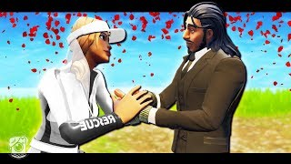 SUN STRIDER AND A NOOB GET MARRIED - A Fortnite Short Film