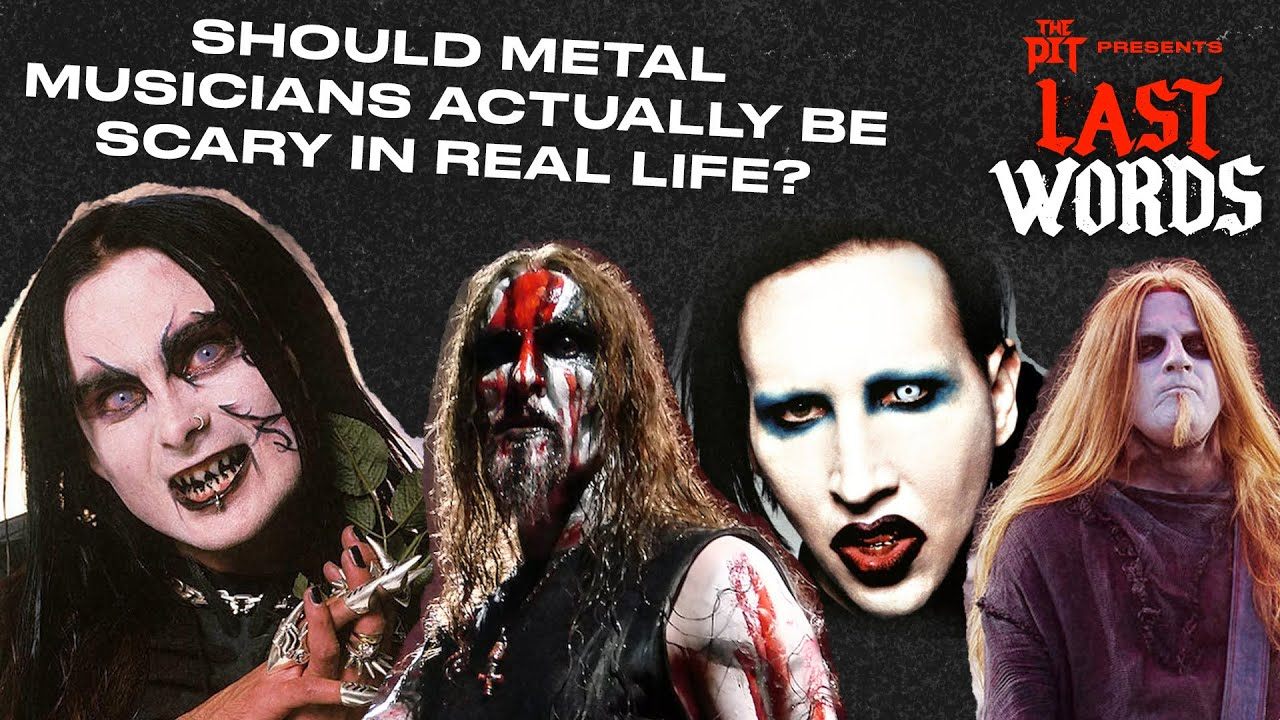 Should metal musicians ACTUALLY be scary in real life? ft. War On Women's Shawna Potter | LAST WORDS