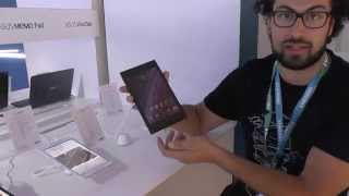 Asus MemoPad ME572CL Tablet Android 64-bit IFA 2014 HDblog.it