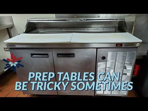 PREP TABLES CAN BE TRICKY SOMETIMES