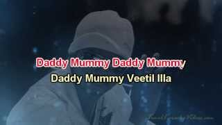 Daddy Mummy - Villu - HQ Tamil Karaoke by Law Entertainment