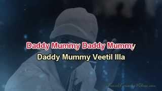 Daddy Mummy - Villu - HQ Tamil Karaoke by Law Entertainment