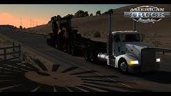 American Truck Simulator: Oversize Load - Peterbilt 377 - San Simon, Arizona