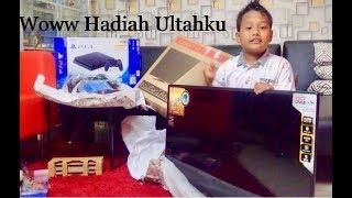 Unboxing Kado Ultah isinya Ps4 + tv gede